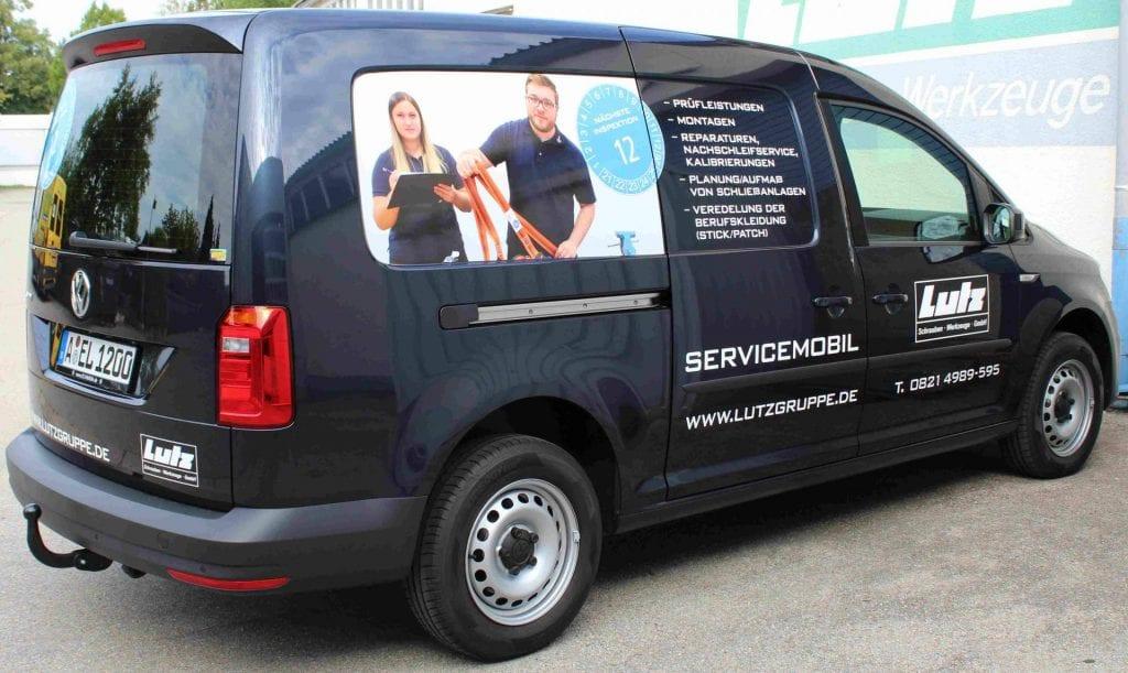 Neues Lutz Servicemobil