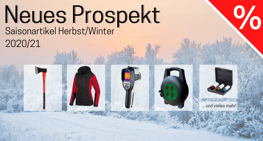 Neues Aktionsprospekt – Saisonartikel Herbst/Winter 2020/21