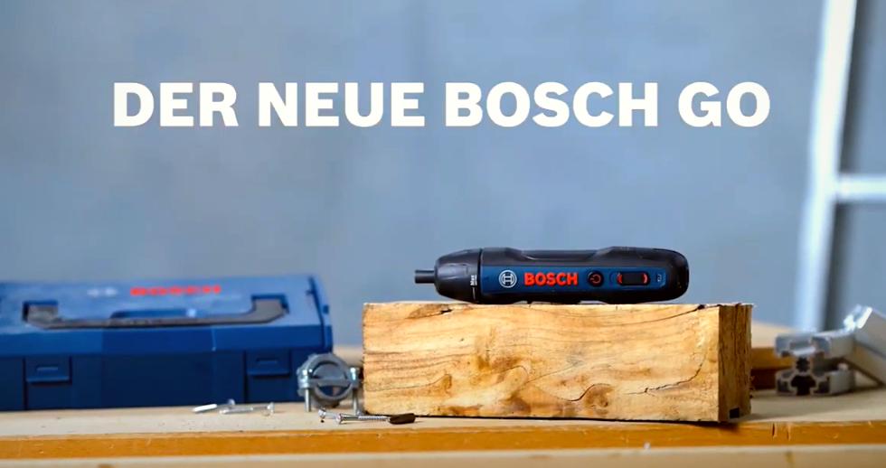 Mit der Hand schrauben war gestern – Bosch GO!